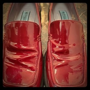 Patent leather Kenneth Cole loafers size 8.5
